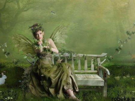 Photo paintings romantic fantasy New romantic16 عکس نقاشی فانتزی عاشقانه و رمانتیک جدید