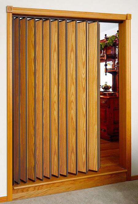 accordion2 door3 طرح های شیک درب آکاردئونی