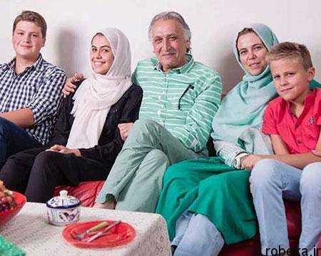 ahmad najafi2 e2 بیوگرافی و تصاویر احمد نجفی + عکس همسر