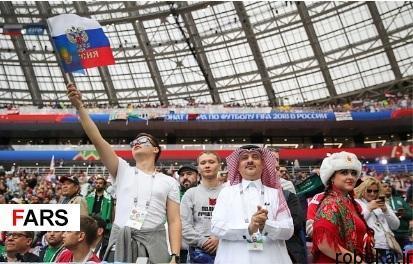 audience opening worldcup97032505 عکس های تماشاگران جام جهانی ۲۰۱۸ روسیه (۱)