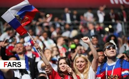 audience opening worldcup97032507 عکس های تماشاگران جام جهانی ۲۰۱۸ روسیه (۱)
