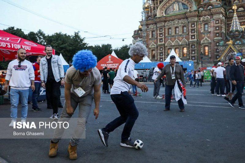 audience world cuprussia97032501 800x534 عکس های تماشاگران جام جهانی ۲۰۱۸ روسیه (۲)
