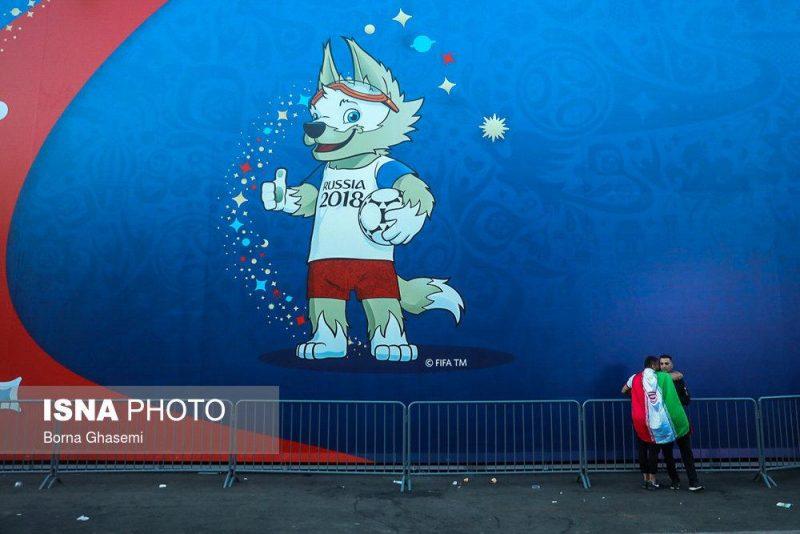 audience world cuprussia97032502 800x534 عکس های تماشاگران جام جهانی ۲۰۱۸ روسیه (۲)