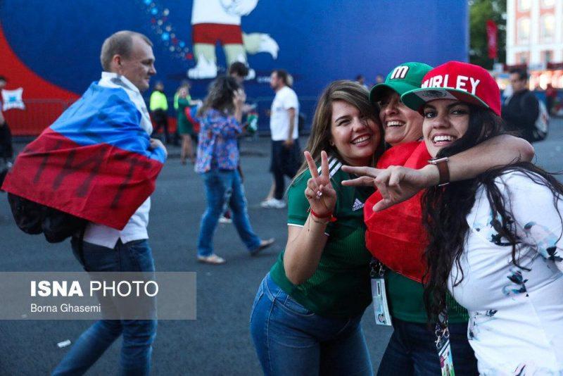 audience world cuprussia97032503 800x534 عکس های تماشاگران جام جهانی ۲۰۱۸ روسیه (۲)