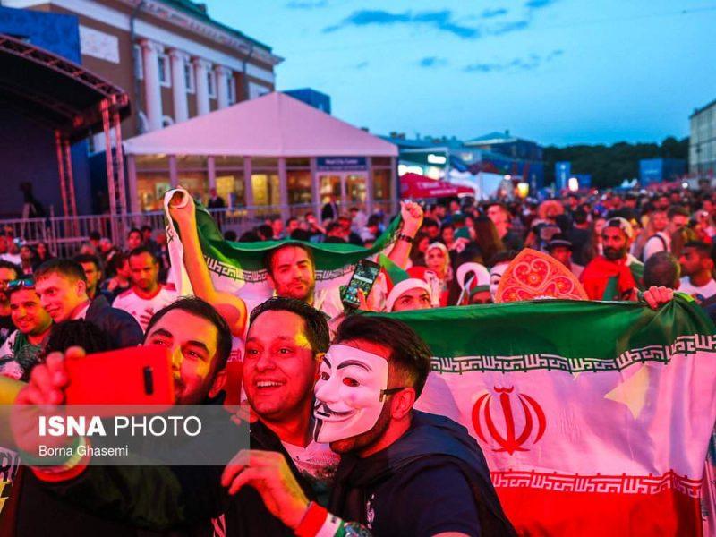 audience world cuprussia97032505 800x600 عکس های تماشاگران جام جهانی ۲۰۱۸ روسیه (۲)