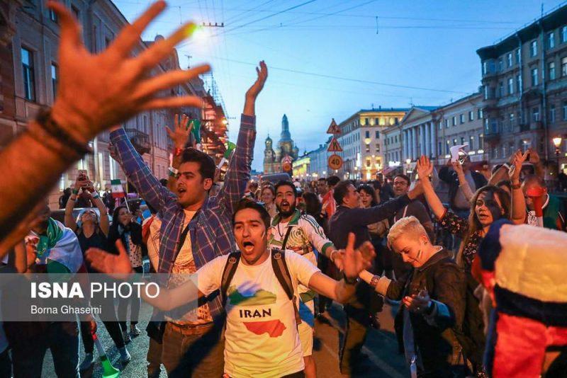 audience world cuprussia97032507 800x534 عکس های تماشاگران جام جهانی ۲۰۱۸ روسیه (۲)