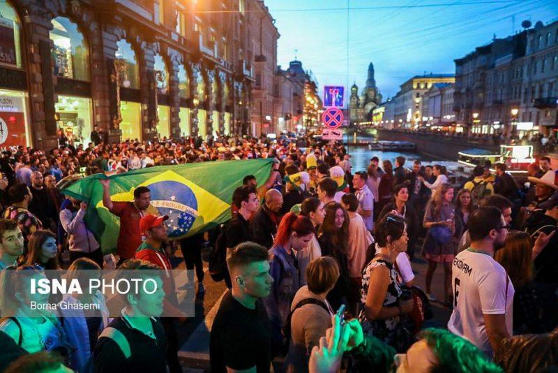 audience world cuprussia97032510 800x534 عکس های تماشاگران جام جهانی ۲۰۱۸ روسیه (۲)