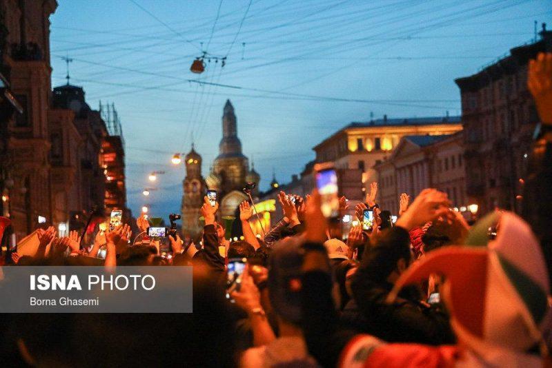 audience world cuprussia97032512 800x534 عکس های تماشاگران جام جهانی ۲۰۱۸ روسیه (۲)