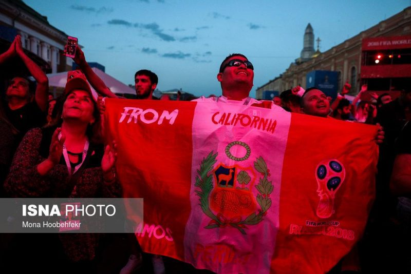 audience world cuprussia97032518 800x534 عکس های تماشاگران جام جهانی ۲۰۱۸ روسیه (۲)