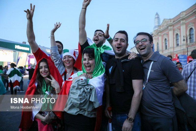 audience world cuprussia97032525 800x534 عکس های تماشاگران جام جهانی ۲۰۱۸ روسیه (۲)