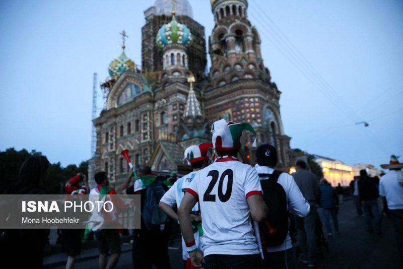 audience world cuprussia97032526 800x534 عکس های تماشاگران جام جهانی ۲۰۱۸ روسیه (۲)