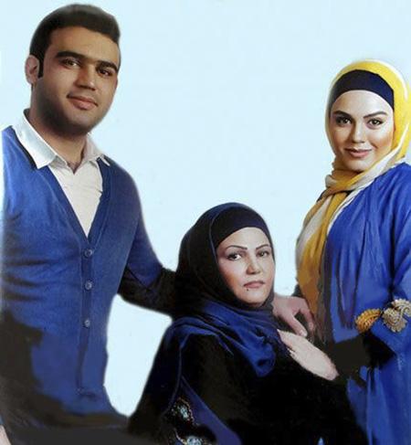 azadeh zarei01 4 بیوگرافی آزاده زارعی + عکس های خانوادگی