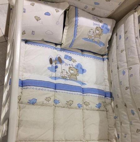 ست نوزادی مخصوص تخت, ست های نوزادی مخصوص تخت