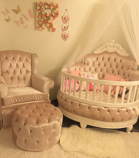 baby2 girl1 room2 color1 رنگ سیسمونی دخترانه