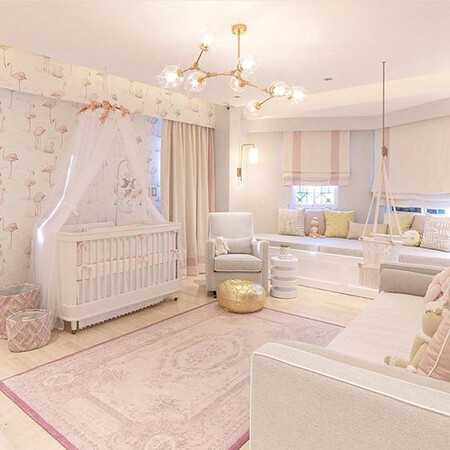 baby2 girl1 room2 color9 رنگ سیسمونی دخترانه