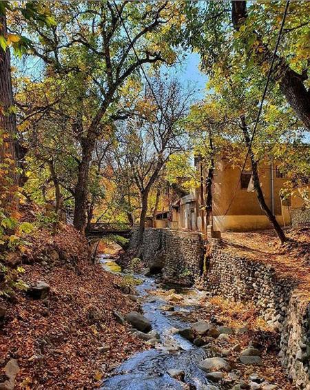 برغان کرج, روستای زیبای برغان, بناهای تاریخی برغان