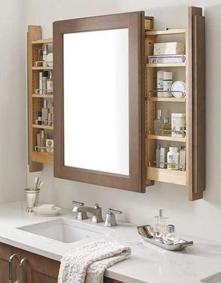 bathroom3 mirror2 model27 جدیدترین مدل آینه دستشویی