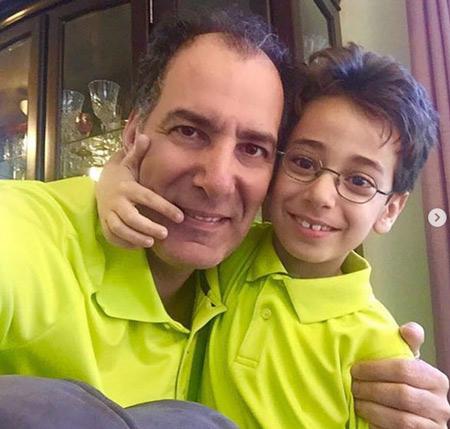 behnam tashakor 07 بیوگرافی بهنام تشکر + عکس همسر و پسرش