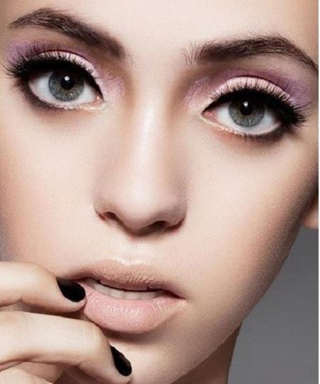 big eye makeup 03 آموزش کامل آرایش چشم درشت