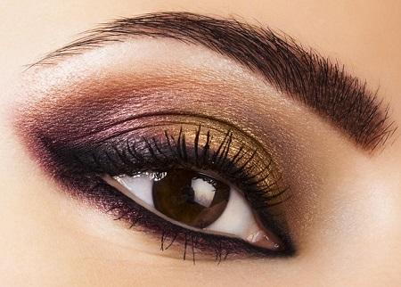 big eye makeup 05 آموزش کامل آرایش چشم درشت
