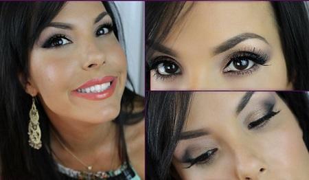 big eye makeup 08 آموزش کامل آرایش چشم درشت