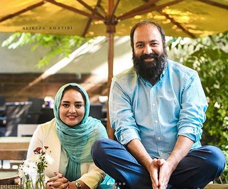 biography ali oji26 بیوگرافی علی اوجی + تصاویر علی اوجی و همسرش