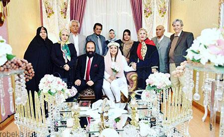 biography ali oji27 بیوگرافی علی اوجی + تصاویر علی اوجی و همسرش
