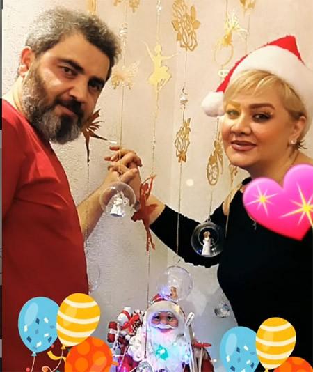 biography atabak naderi 6 robeka.ir  بیوگرافی اتابک نادری + عکس اتابک نادری و همسرش و فرزندش