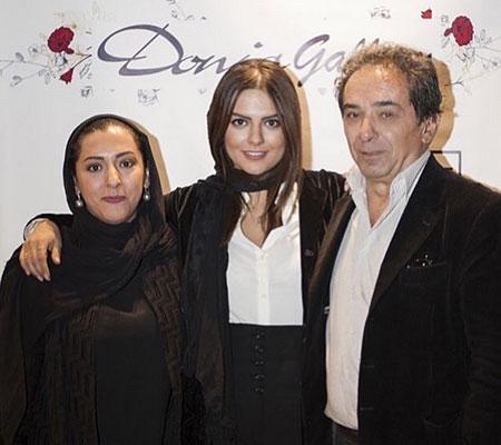 biography donya madni24 بیوگرافی و عکس های دنیا مدنی دختر بازیگر معروف