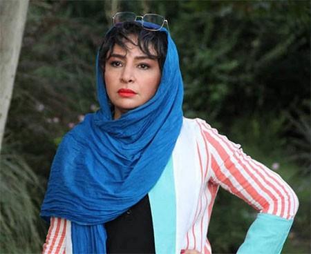 biography mahlagha bagheri 2 بیوگرافی مه لقا باقری + عکس مه لقا باقری و همسرش