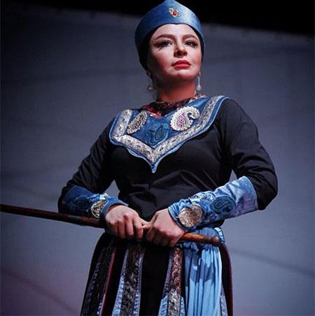 biography mahlagha bagheri 7 بیوگرافی مه لقا باقری + عکس مه لقا باقری و همسرش