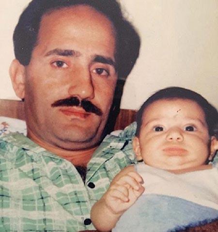 biography majid mozaffari29 بیوگرافی مجید مظفری + عکس های مجید مظفری و دخترش