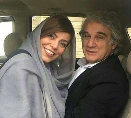 مهدی هاشمی و همسرش مهنوش صادقی