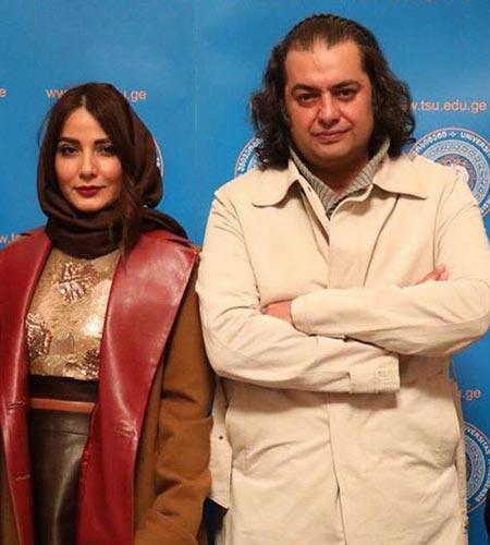 biography samira hassanpour24 بیوگرافی سمیرا حسن پور + عکس های همسرش