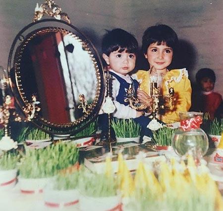 biography samira hassanpour25 بیوگرافی سمیرا حسن پور + عکس های همسرش