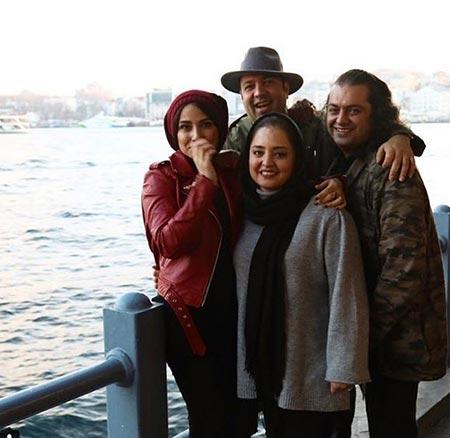 biography samira hassanpour26 - بیوگرافی سمیرا حسن پور + عکس های همسرش