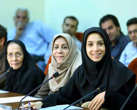 biography shahrbanoo mousavi30 بیوگرافی شهربانو موسوی