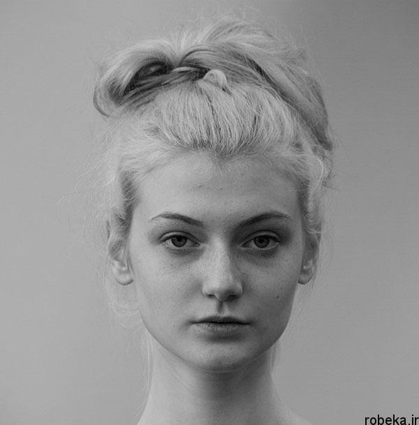 black white artistic portraits photos 14 عکس پرتره سیاه و سفید هنری از چهره های دخترانه و مردانه
