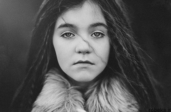 black white artistic portraits photos 5 عکس پرتره سیاه و سفید هنری از چهره های دخترانه و مردانه