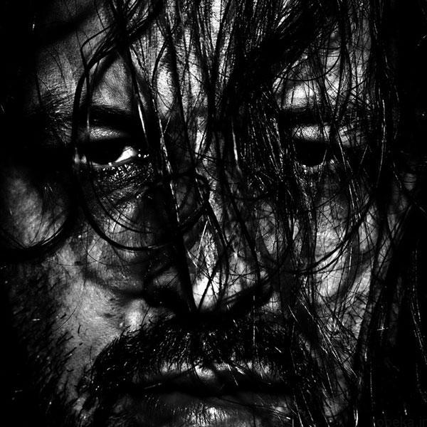 black white artistic portraits photos 6 عکس پرتره سیاه و سفید هنری از چهره های دخترانه و مردانه