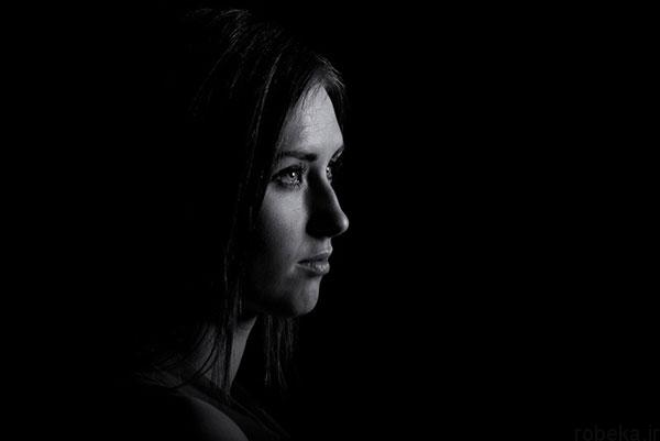 black white artistic portraits photos 7 عکس پرتره سیاه و سفید هنری از چهره های دخترانه و مردانه