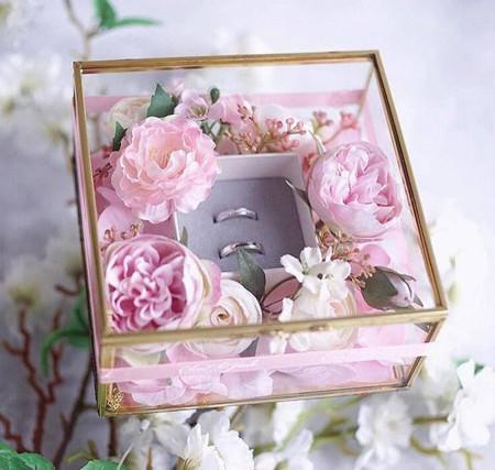 bride2 groom ring13 تزیین جا حلقه ای عروس و داماد