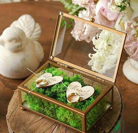 bride2 groom ring16 تزیین جا حلقه ای عروس و داماد