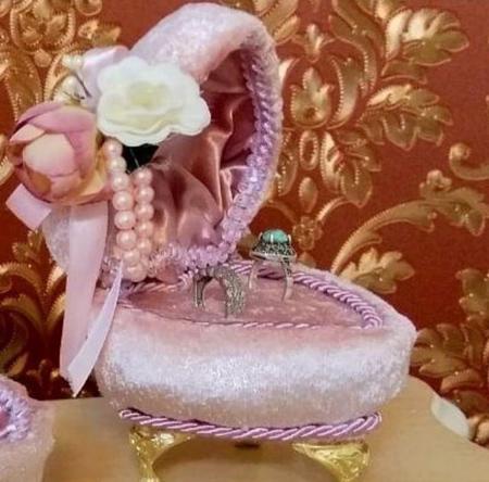bride2 groom ring22 تزیین جا حلقه ای عروس و داماد