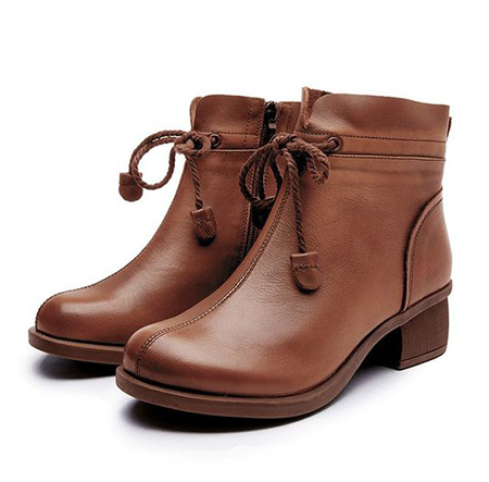 brown1 boot2 model11 مدل بوت و نیم بوت قهوه ای
