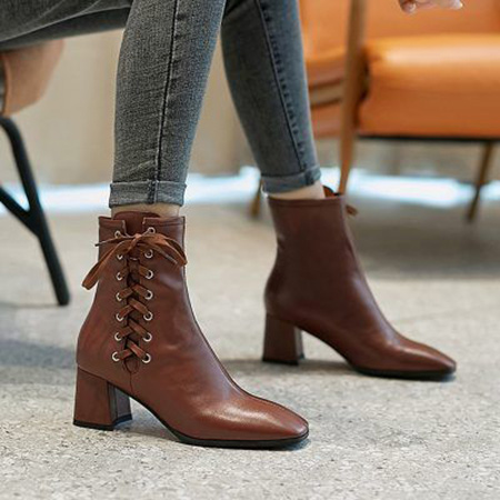 brown1 boot2 model13 مدل بوت و نیم بوت قهوه ای