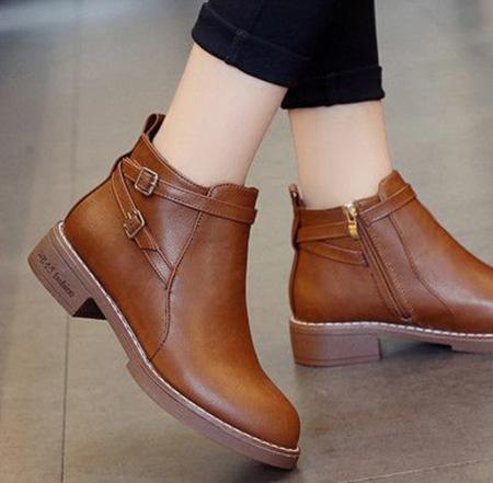 brown1 boot2 model15 مدل بوت و نیم بوت قهوه ای