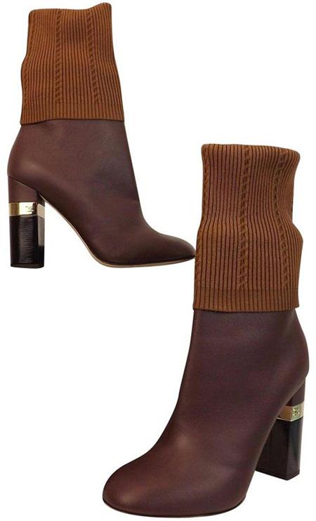 brown1 boot2 model2 مدل بوت و نیم بوت قهوه ای