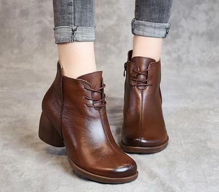 brown1 boot2 model6 مدل بوت و نیم بوت قهوه ای