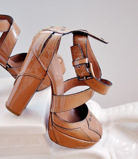 کفش مجلسی قهوه ای, مدل کفش قهوه ای